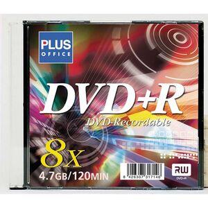 CAMPUS DISCO DVD PLUS +R 4,7GB.120MIN DVD+R/CS MAK175075