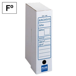 PLUS OFFICE ARCHIVO DEFINITIVO PLUS Fº CARTON 1488 MAK180099