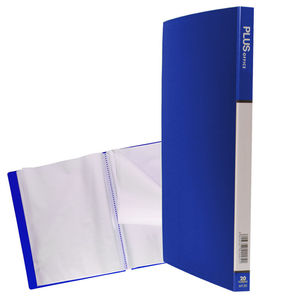 CAMPUS CARPETA FUNDAS PLUS A4 RIGIDO 20F AZL MT20 MAK180221