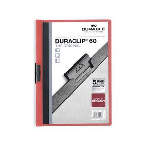 EDDING DOSSIER DURABLE A4 DURACLIP 60H ROJO 2209 RJ MAK180259