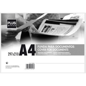 CAMPUS FUNDA DOCUMENTOS PLUS A4 RIGIDA TRANS 5806 MAK180396
