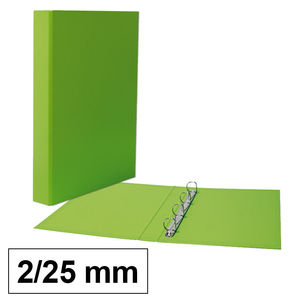 CAMPUS CARPETA CARTON PLUS Fº 2A/25 VERDE CL CARIBLIMA0331 MAK180762