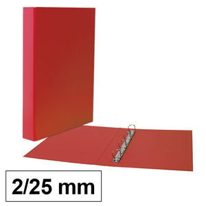 CAMPUS CARPETA CARTON PLUS Fº 2A/25 ROJO RED 0101 MAK180765
