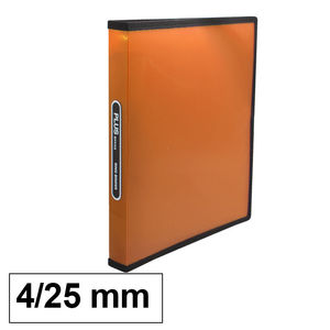 CAMPUS CARPETA PP PLUS A4 4A/25 NARANJA RAY. 649-57 ORANGE MAK180836