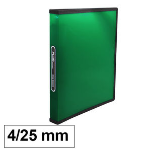 CAMPUS CARPETA PP PLUS A4 4A/25 VERDE RAYADO 649-57 GREEN MAK180838