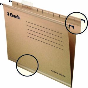 ESSELTE CARPETA COLGANTE ESSELTE A4 KRAFT/50U 93290 MAK181119