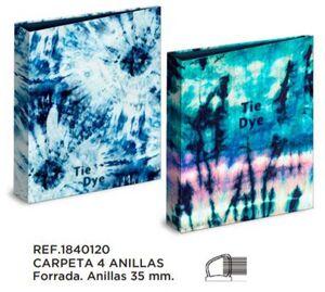 CARPETA A4 4A. 35 MM KATACRAK TIE DYE 1840120