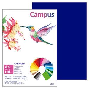 CAMPUS CARTULINA CAMPUS A4 180G ULTRAMA/100U A.PETROLEO MAK220145