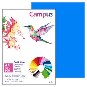 CAMPUS CARTULINA CAMPUS A4 180G MALDIVA/100U 001177111 MAK220419