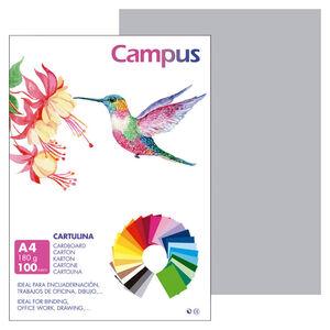 CAMPUS CARTULINA CAMPUS A4 180G GR.CLAR/100U 0019739 MAK220422