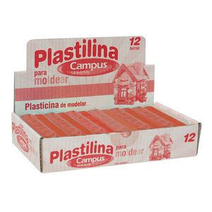 PLASTILINA CAMPUS MEDIANA 200GMARRON