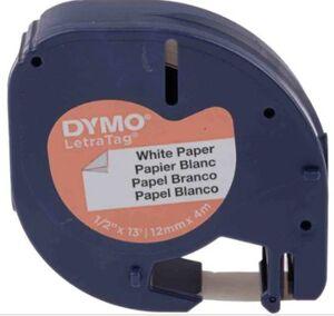 PAPER MATE CINTA DYMO LETRATAG PAPEL NEGRO/BLANC S0721510 MAK220287