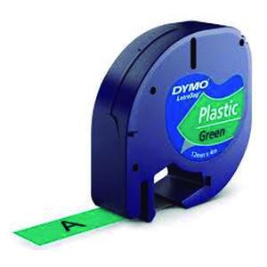 PAPER MATE CINTA DYMO LETRATAG PLASTIC.NEGR/VERD S0721640 MAK220291