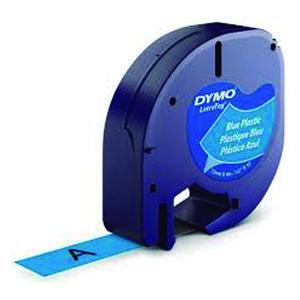 PAPER MATE CINTA DYMO LETRATAG PLASTIC.NEGR/AZUL S0721650 MAK220292