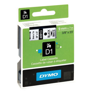 PAPER MATE CINTA DYMO D1 9MMX7M NEGRO/BLANCO S0720680 MAK220293