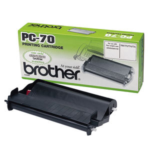 CARTUCHO BROTHER PC70 NEGRO * PC-70 MAK220331