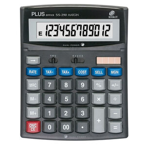 CALCULADORA PLUS MARGIN SS-290 220427