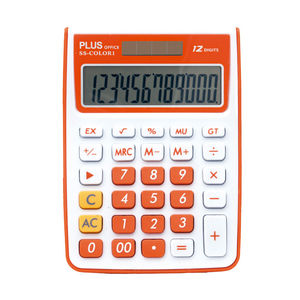 CAMPUS CALCULADORA PLUS SS-COLOR 1 NARANJA KK-8115-12S0R MAK220570