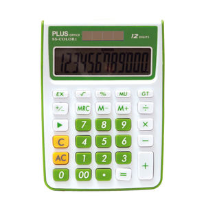 CAMPUS CALCULADORA PLUS SS-COLOR 1 VERDE KK-8115-12SGN MAK220571
