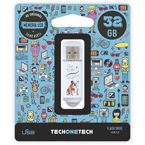 PENDRIVE TECH1TECH 32GB QUE VIDA MAS TEC4009-32 MAK247742
