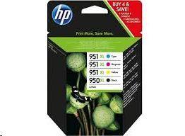 CARTUCHO INKJET HP Nº950XL+951XLPACK4 C2P43AE MAK255056