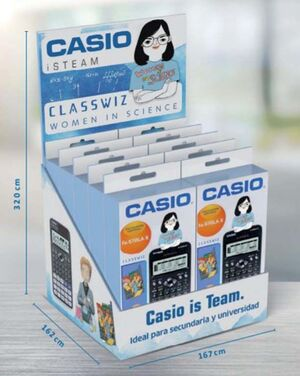 CALCULADORA CASIO 82SPXII      255338