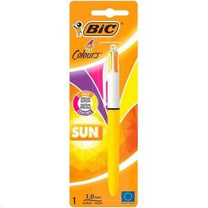 BOLIGRAFO BIC 4 COLORES SUN BLISTER 949898