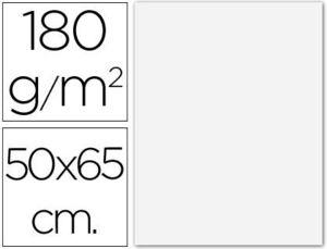 CARTULINA GUARRO EXTRA BLANCA 50X65 CM 180 GR -UNIDAD