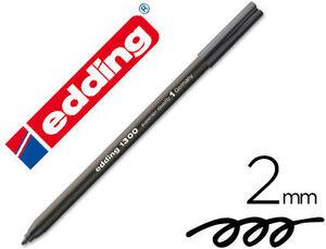 EDDING ROTULADOR EDDING 1300 NEGRO 101300-01 NEG MAK080213