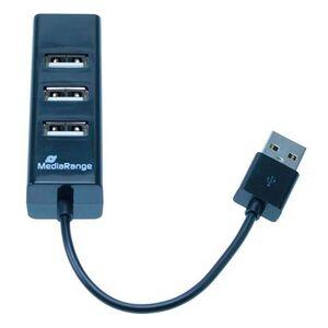 REPLICADOR PUERTOS MEDIARANGE USB 2.0