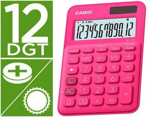 CASIO CALCULADORA CASIO MS20UC ROJO MS-20UC-RD MAK247859