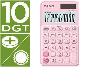 CASIO CALCULADORA CASIO SL310UC ROSA SL-310UC-PK MAK247853