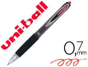 BOLIGRAFO UNI-BALL ROLLER UMN-207 RETRACTIL 0,7 MM COLOR ROJ