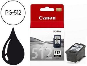 CARTUCHO CANON 512 PG512 NEGRO * 2696B001 MAK166297