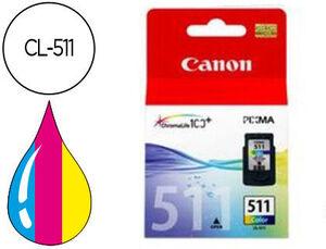 CARTUCHO CANON 511 CL511 COLOR 2972B001 MAK167349