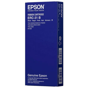 EPSON CINTA REGISTRADORA NEGRO ERC-31B M-/930 TM-/930/930II/950/U950/U925/H5000/U590/H5000II C43S015369