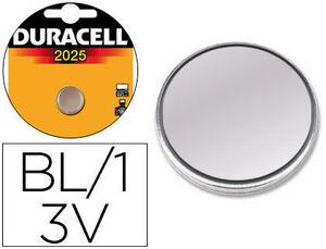 BIC PILAS DURACELL BOTON CR2025/BL.1UD CR2025 MAK749626