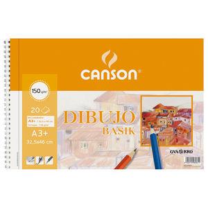 FILA BLOC DIBUJO BASIK A3+ ESP-LISO 150GG 200400694 MAK600072