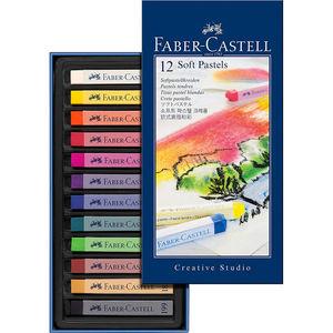 EDDING PASTEL BLANDO FABER CASTELL 12COLORES 09128312 MAK619831