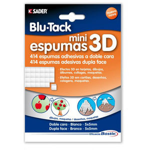 PLICO BLU TACK MINI ESPUMA 3D D/CARA 17646 MAK625230