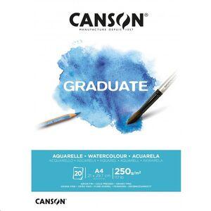 CANSON BLOC CANGRAD GRADUATE ACUARELA 20H A4 250G. 625505 400110374