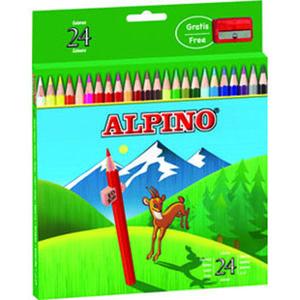 MASATS LAPICES ALPINO 24 COLORES AL000658 MAK630042
