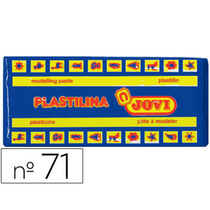 JOVI PLASTILINA JOVI MEDIANA 150G AZUL OSC 7113 MAK630125