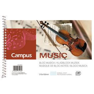 CAMPUS BLOC MUSICA A5 APAIS. PENT.CLASICO 18801 MAK630151
