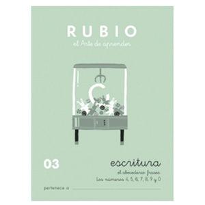 CUADERNO RUBIO ESCRITURA 03/10UD 630319