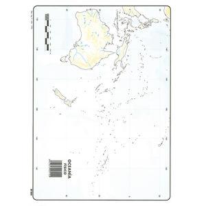 MAPA MUDO OCEANIA FISICO 00165510 MAK630353