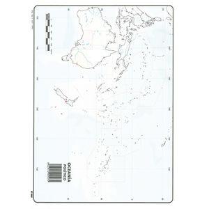 MAPA MUDO OCEANIA POLITICO 00165507 MAK630354
