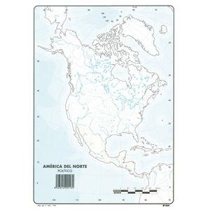 MAPA MUDO AMERICA NORTE POLITICO 00165516 MAK630358