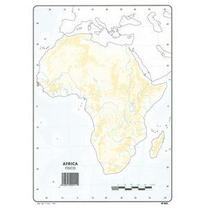 MAPA MUDO AFRICA FISICO 00165511 MAK630359