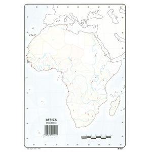 MAPA MUDO AFRICA POLITICO 00165508 MAK630360